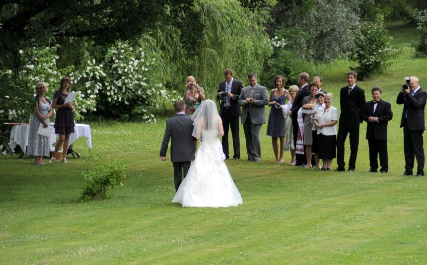slott brudepar