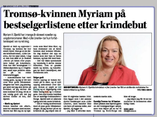 myriam i itromsoe april 2017