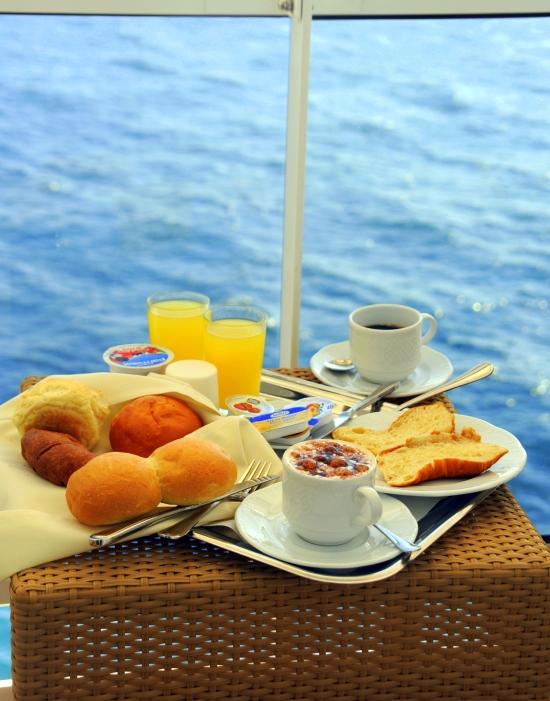 cruise balkongfrokost