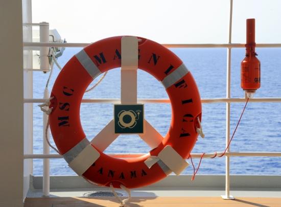 cruise sikkerhet
