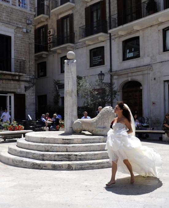 cruise utflukt Bari runaway bride2