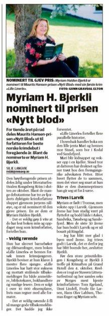 Østlandsposten september 2018